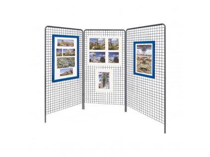 Interiérová výstavní mříž 2000x1000 mm (set 3ks) 513603