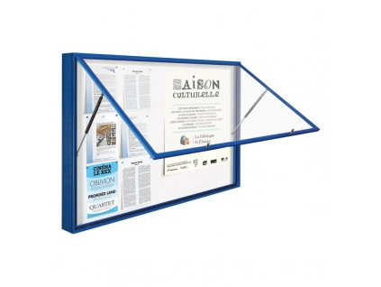 Venkovní vitrína 1000 hl. 75 mm