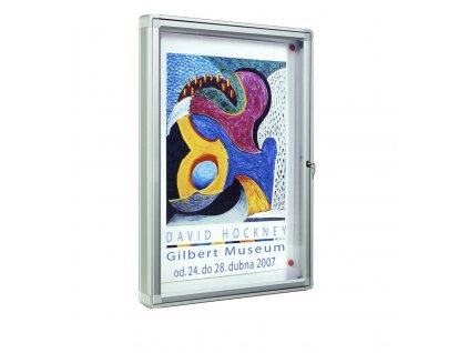 Venkovní vitrína 2000 hl. 75 mm