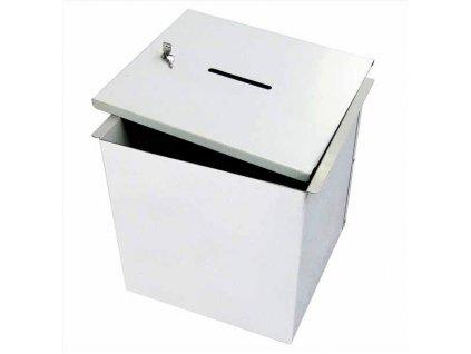 Kovová demontovatelná hlasovací urna