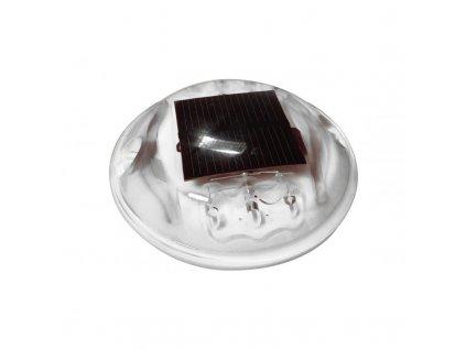 Solární dopravní knoflík kulatý polykarbonátový