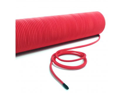 Elastický provaz pro muzejní bariérový systém, červený MUSE004