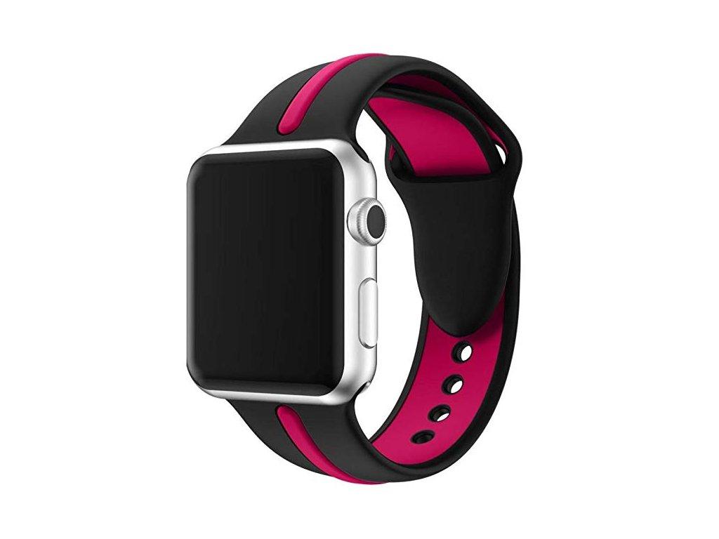 Dvojbarevný náhradní řemínek pro Apple Watch 42/44mm