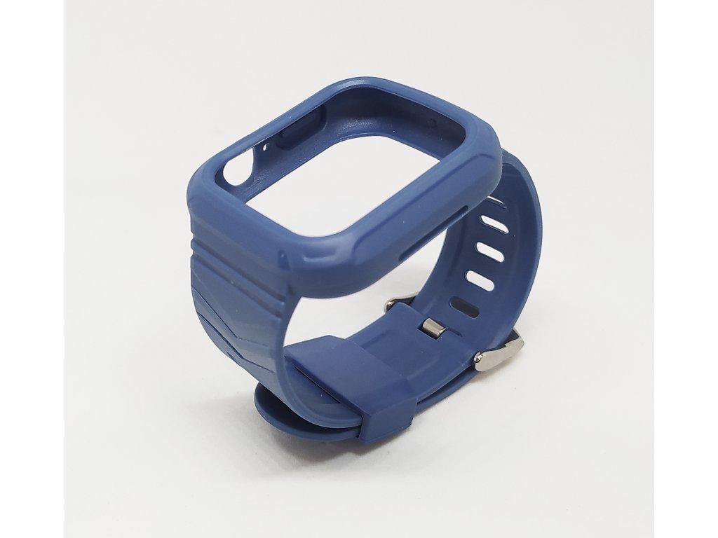 Silikonový pásek s pouzdrem Apple Watch