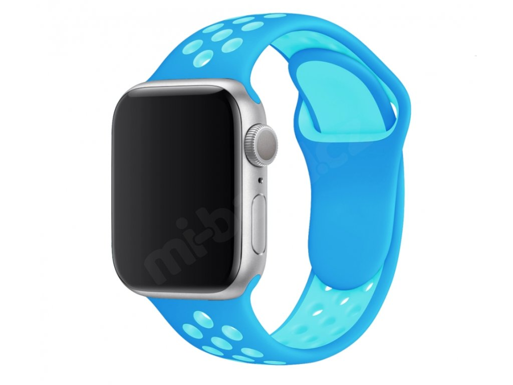 Perforovaný dvojbarevný pásek pro Apple Watch 38/40mm a 42/44mm