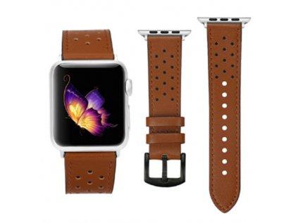 Kožený náhradní řemínek Premium pro Apple Watch 38/40mm