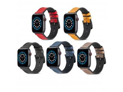 Rugged řemínek pro Apple Watch 38/40 a 42/44mm (Barva Modrá, Velikost 42/44mm)