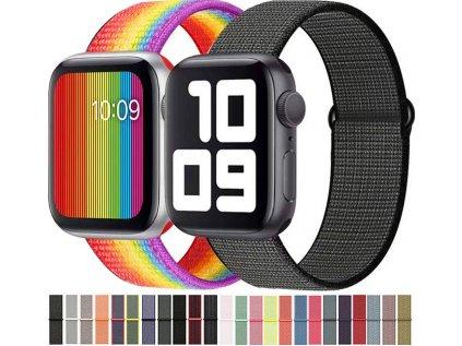 Nylonový řemínek pro Apple Watch 38/40mm (typ 9)