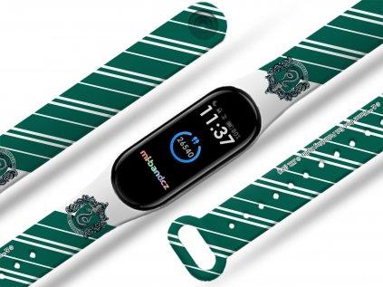 hp 1 - Zmijozel kravata náhradní náramek pro Mi band 2/3/4/5/6 (Velikost Pro Mi band 5)
