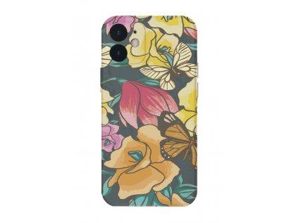 Motýlí květ kryt na iphone 7/8/X/XS/XR/11/12/SE