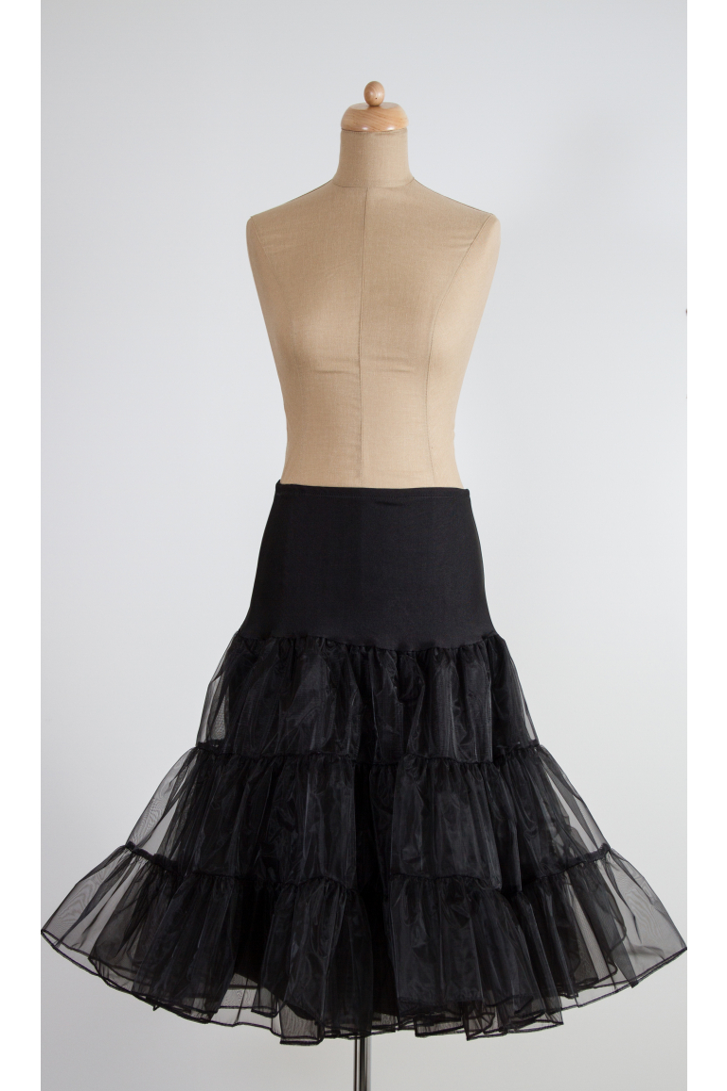 Spodnička ve stylu 50.let černá