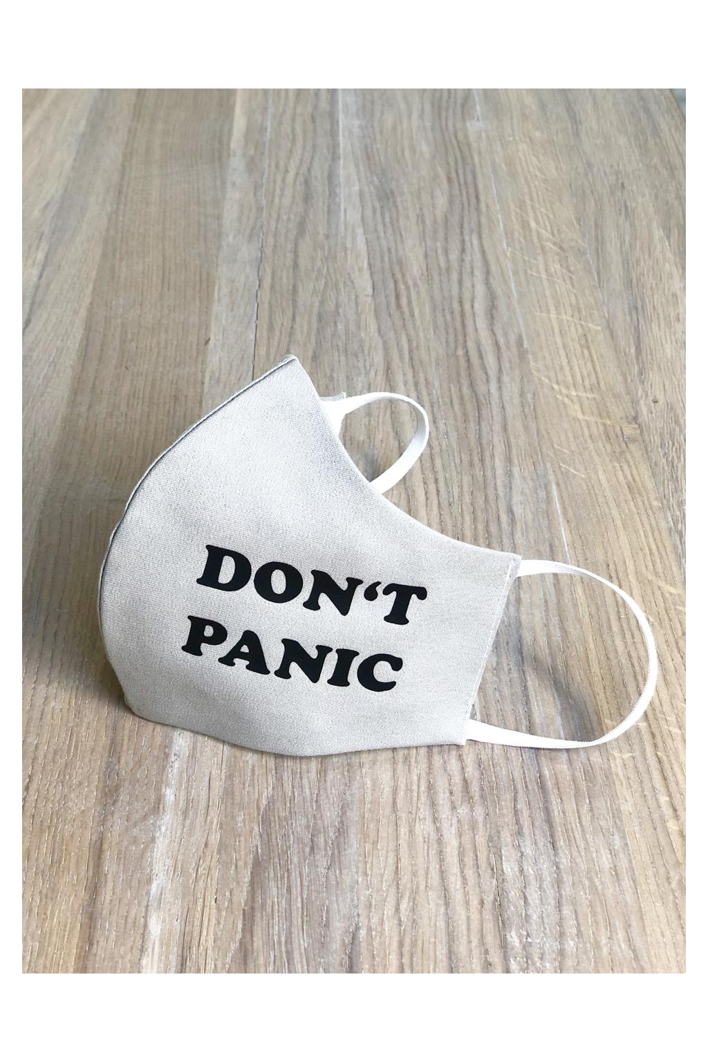 Rouška s potiskem - DON'T PANIC