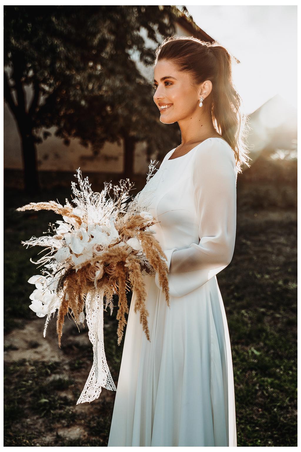 Šifonové svatební šaty DOVE