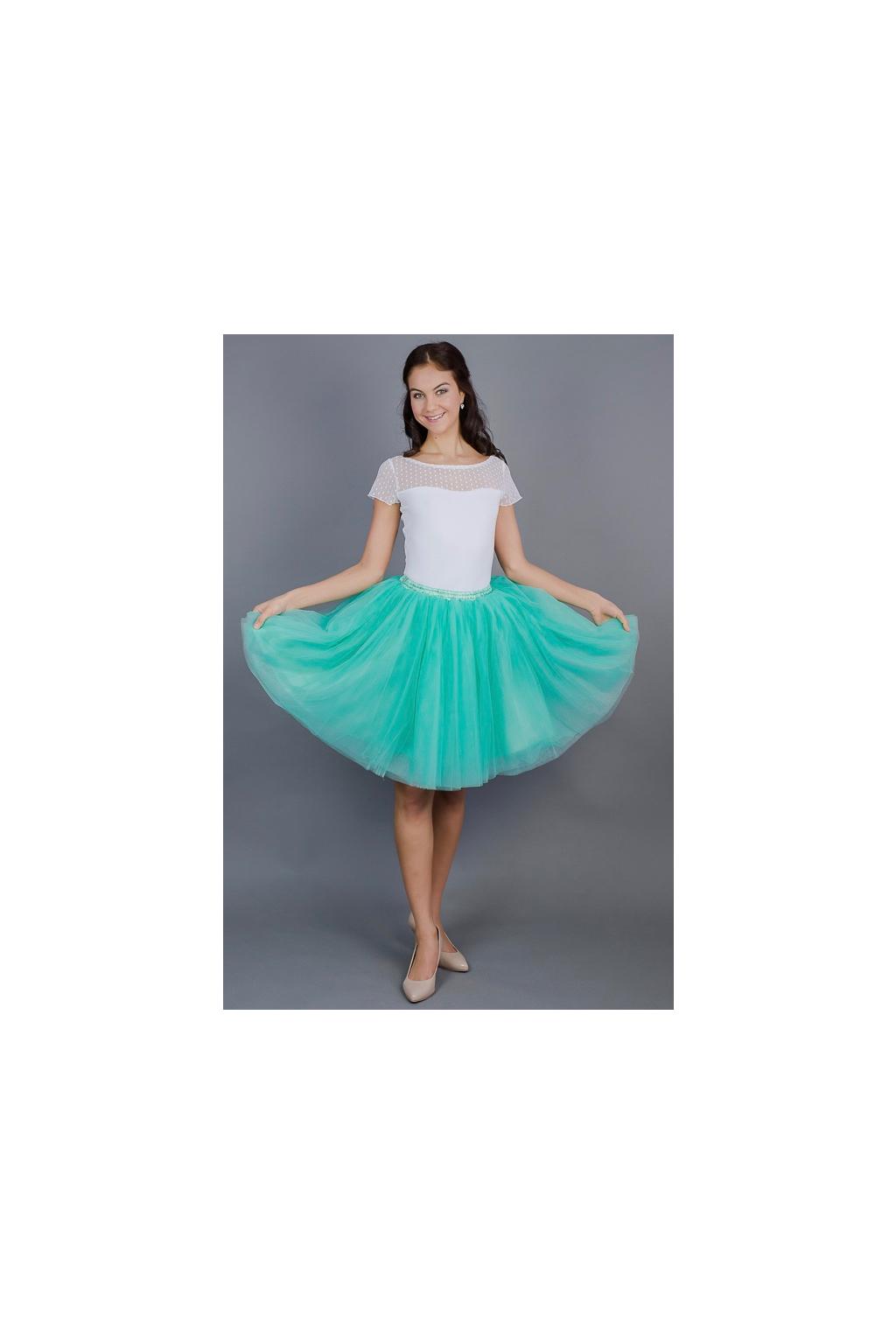 mint-zelena-tutu-sukne