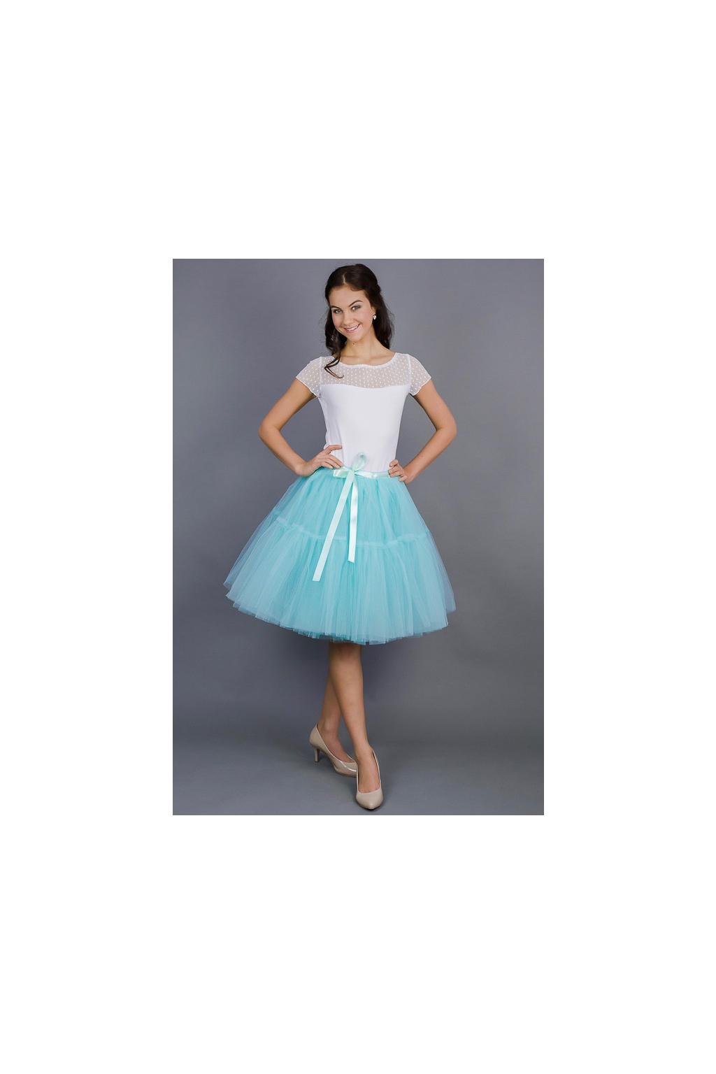 tutu-sukne-tyrkysova