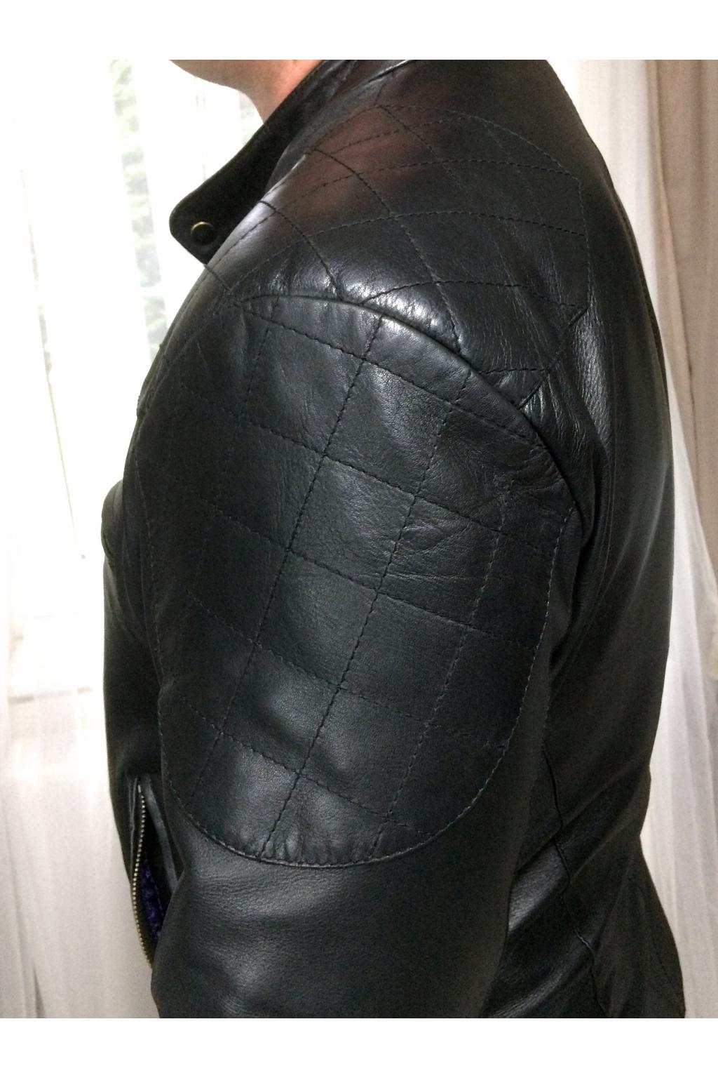 1f8309f18 Pánská kožená bunda - MiaBella