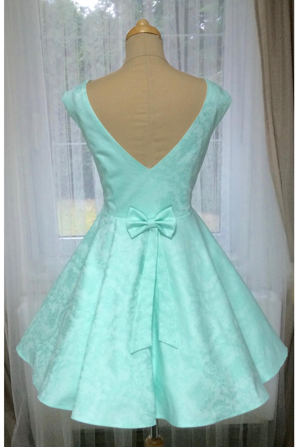 Mint zelené retro šaty SUSAN