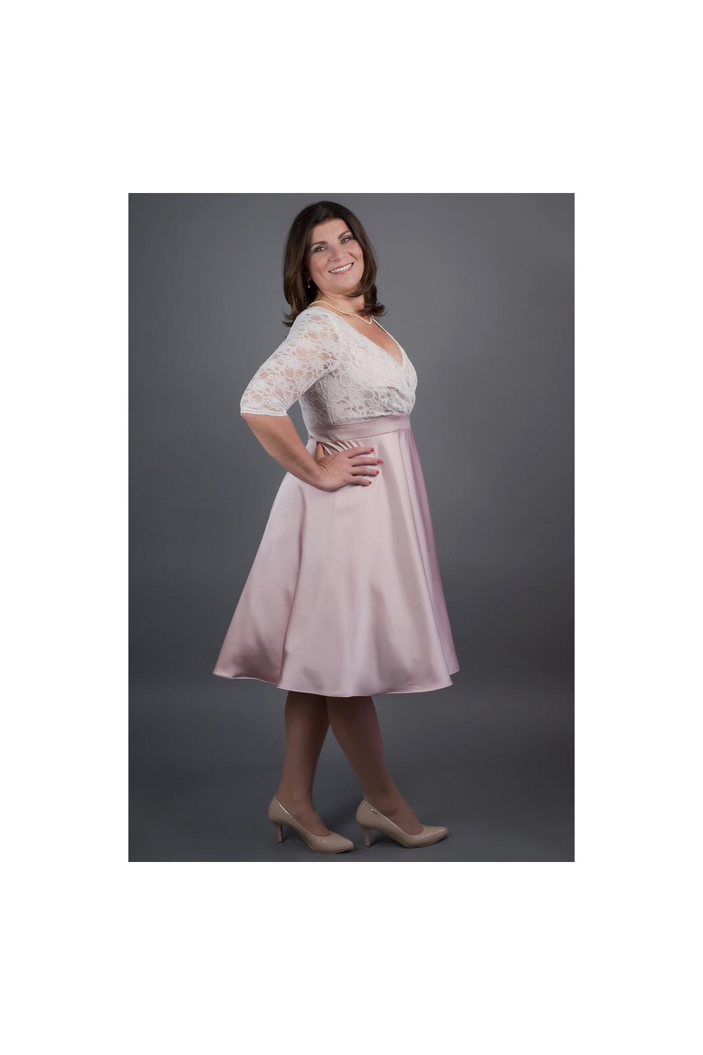 Šaty MARGARET se skládaným krajkovým živůtkem · Šaty MARGARET se skládaným  krajkovým živůtkem 0102a0600f