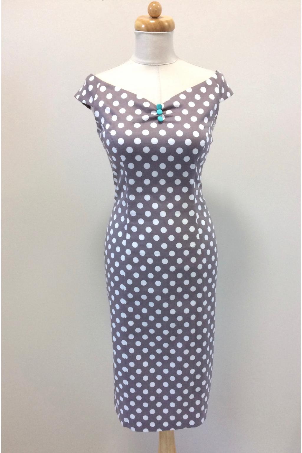 ... HS 161010 2191 · Pouzdrové šaty s puntíky ... 370ea20a22