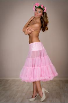 Objemová spodnička tmavá růžová