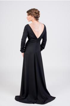 Dlouhé společenské šaty černé