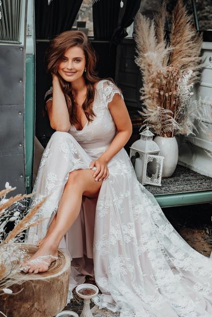 Romantické svatební šaty LUCA