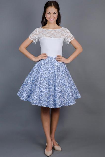 kolova-sukne-modra-porcelanova