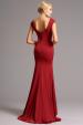 Vysoce elegantní plesové šaty červené