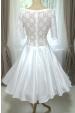 Svatební šaty ADELE s rukávy