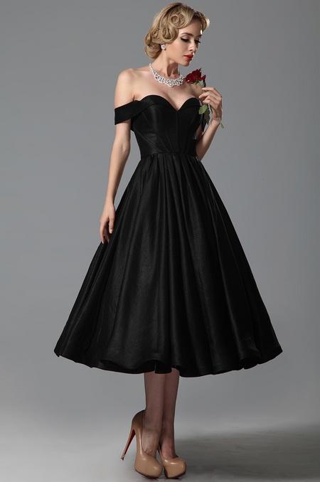 Společenské retro šaty jako na obrázku, 38