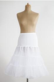 Spodnička ve stylu 50.let - bílá