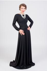 298f8b96248e Dlouhé společenské šaty černé · Dlouhé společenské šaty černé
