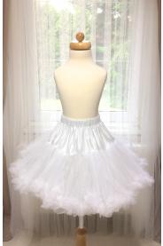 Spodnička dětská bílá 35cm
