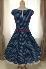 DAISY lehké letní šaty s puntíkem