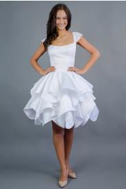 Krátké svatební šaty ROSE