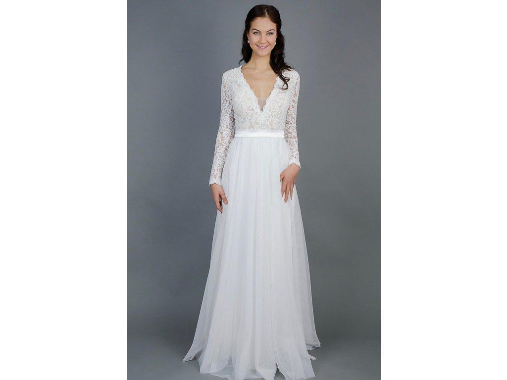 3125b0f99b Ha nem a nyár kellős közepére tervezed az esküvőd, de szeretnél egy  könnyed, romantikus vintage ruhát, ez lesz a kedvenc darabod!
