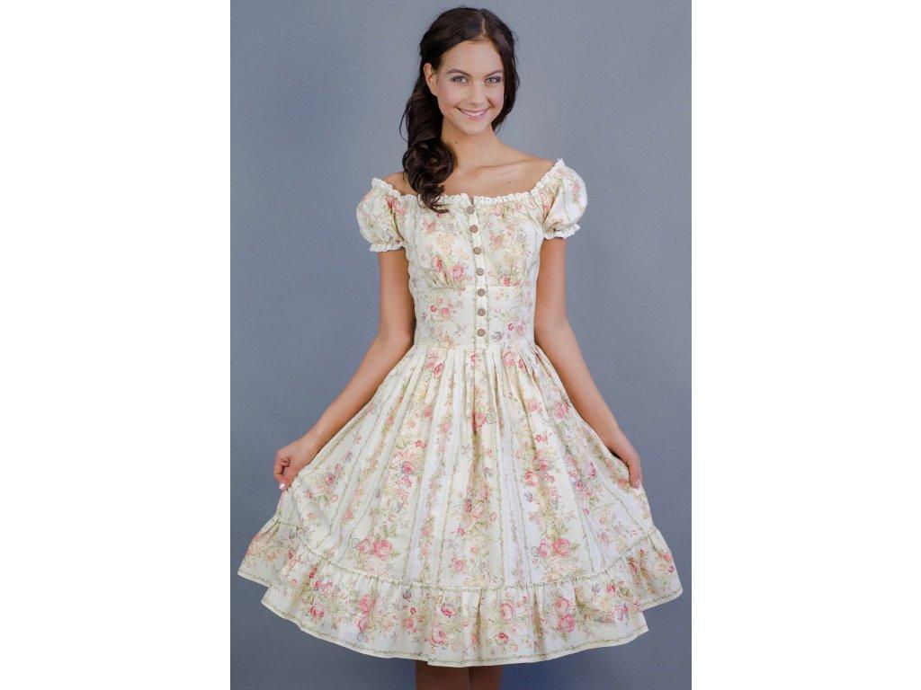 e92bce4242 Virágmintás nyári bohém ruha - MiaBella Magyarország