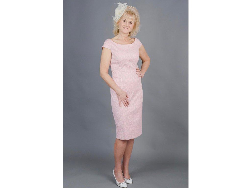 Rózsaszín örömanya ceruzaruha - MiaBella Magyarország 48f0044673