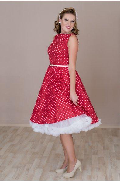 Alsószoknya az 50-es évek stílusában- piros - MiaBella Magyarország a264d3ce39