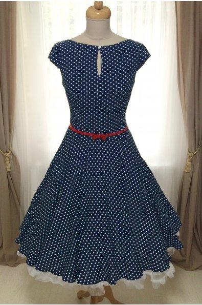 DAISY könnyű pöttyös nyári ruha 6397a9cc53