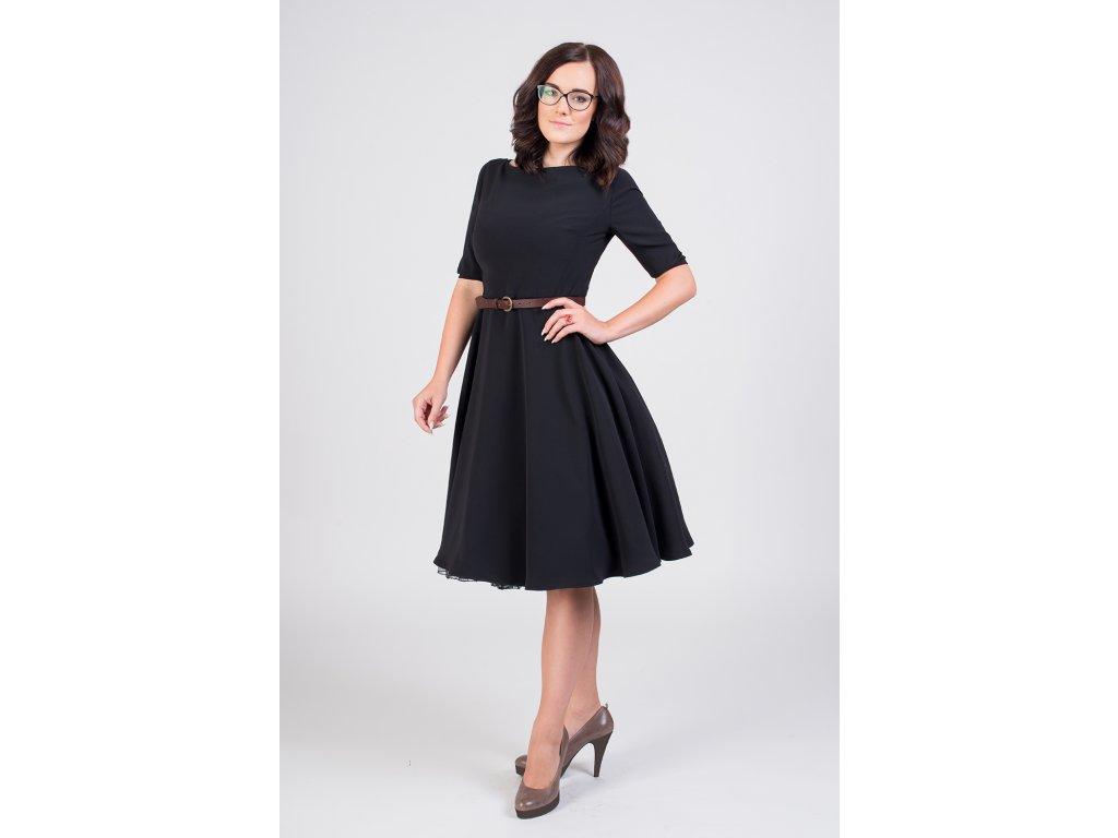 d750ec1447ae ADELE retro šaty čierne · ADELE retro šaty čierne