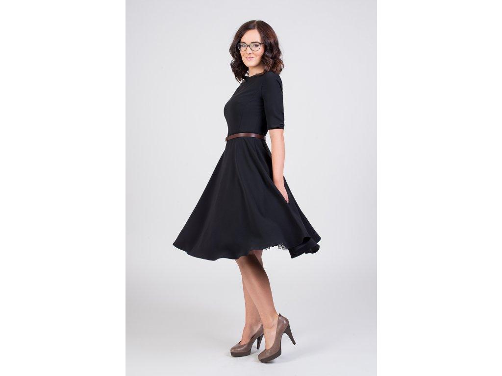 bca5670c73ea ADELE retro šaty čierne - MiaBella