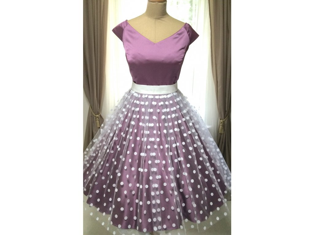 MILLA spoločenské šaty fialové · MILLA spoločenské šaty fialové 94a8356a4b9