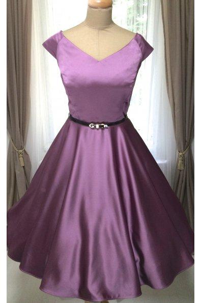 MILLA spoločenské šaty fialové