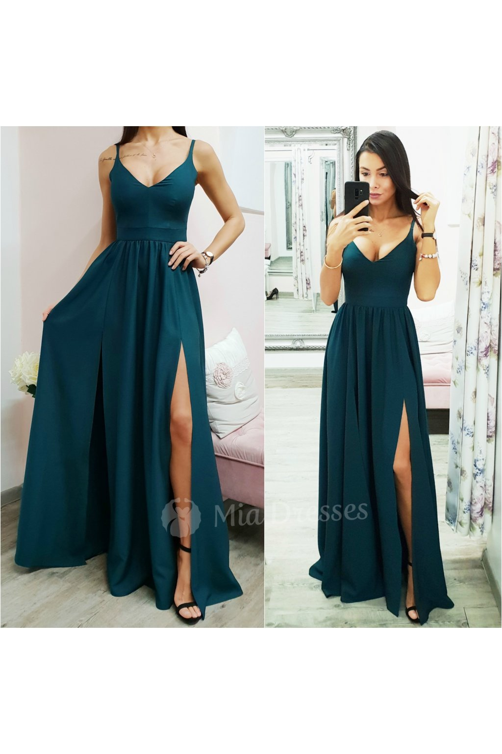 c83561b73eeb Zelená farba - Mia Dresses