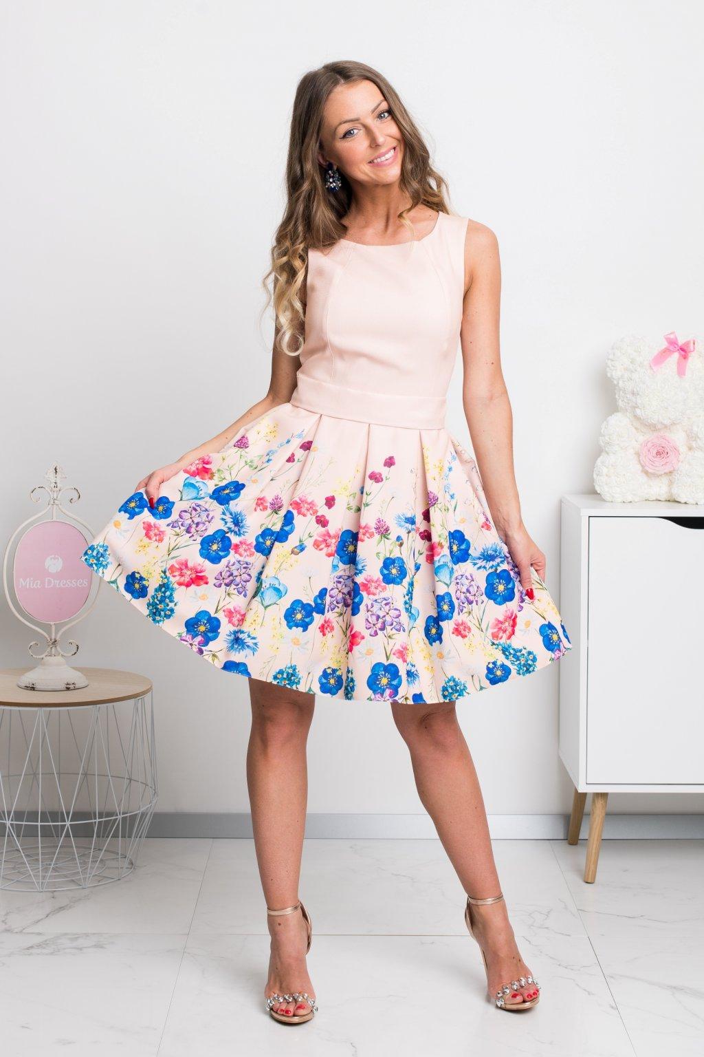 0f0a3719d4566 Krátke spoločenské šaty