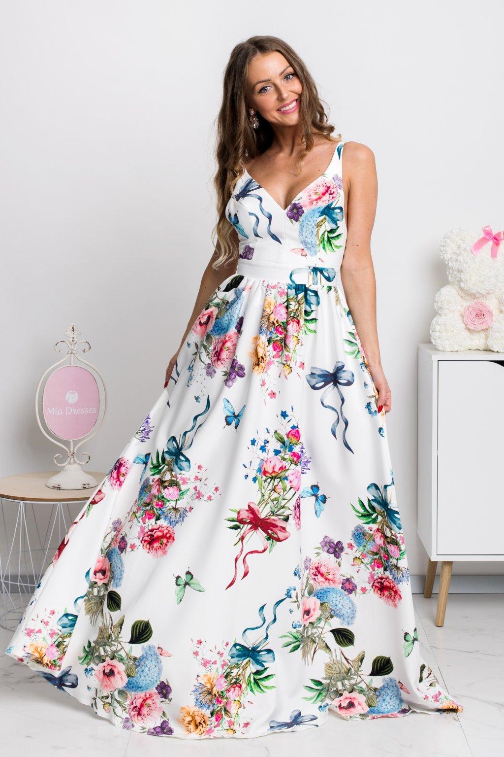 40bef7e05337 Dlhé spoločenské šaty