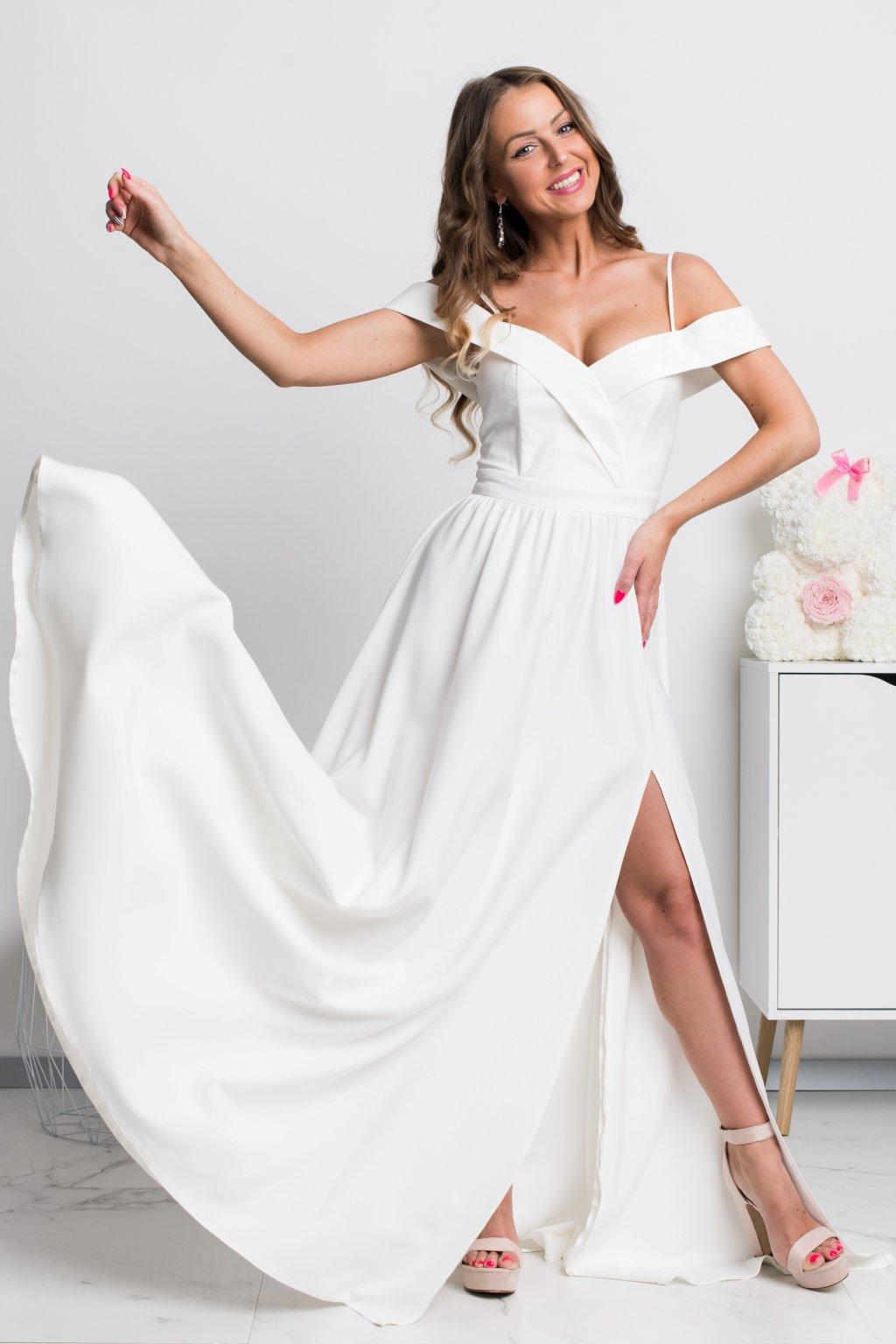 5d6b3aef9c21 Dlhé spoločenské šaty