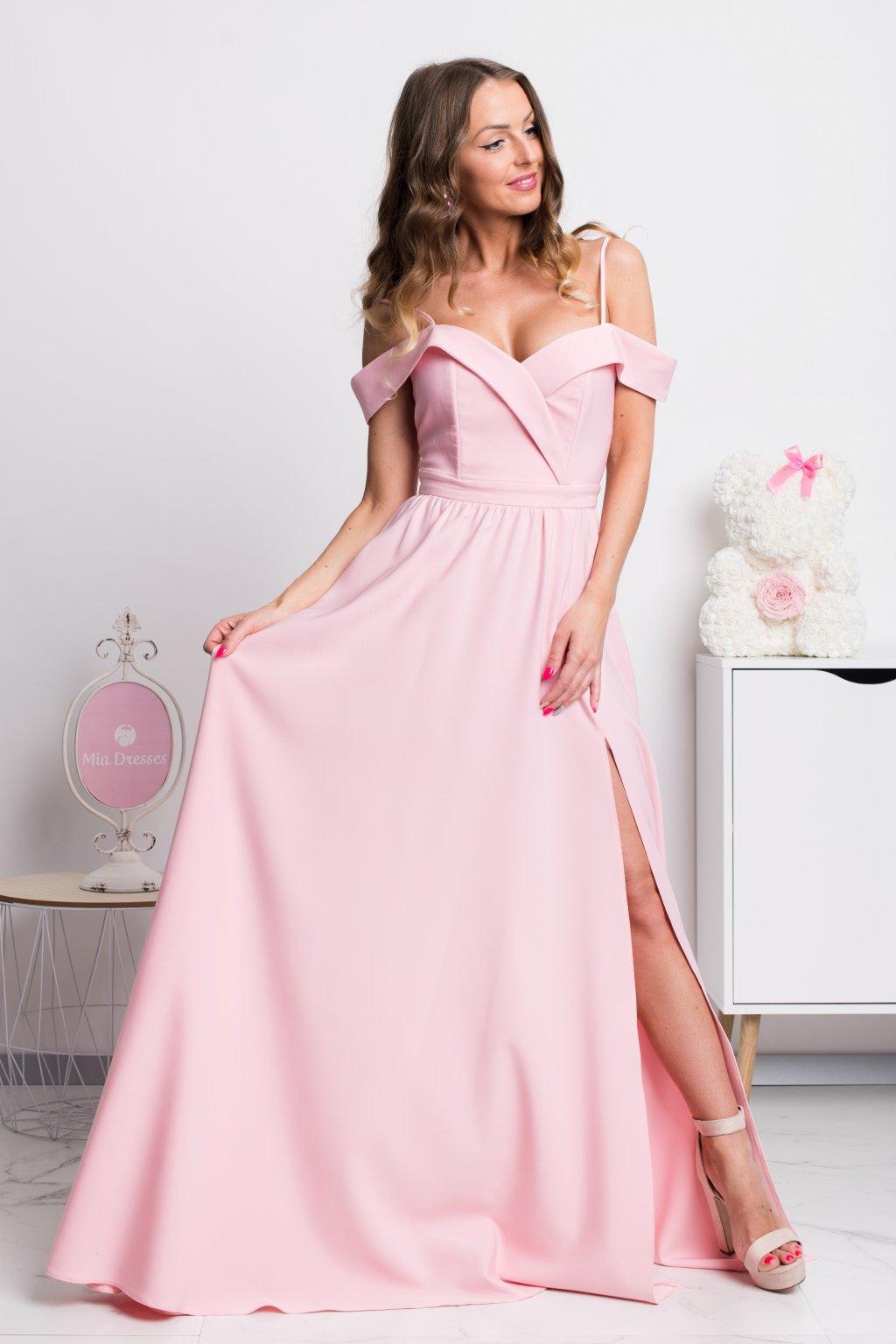 8289fc96cd Dlhé spoločenské šaty