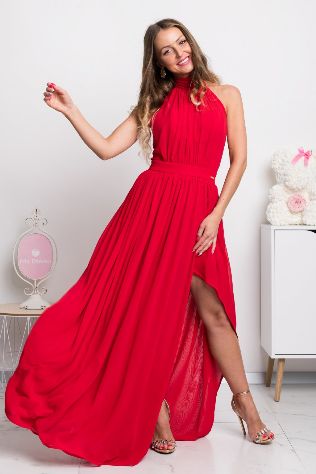 fe22aa5a747c Dlhé spoločenské šaty